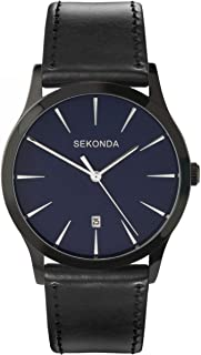 Sekonda Gents Watch with Dark Blue Dial and Black Strap 3536