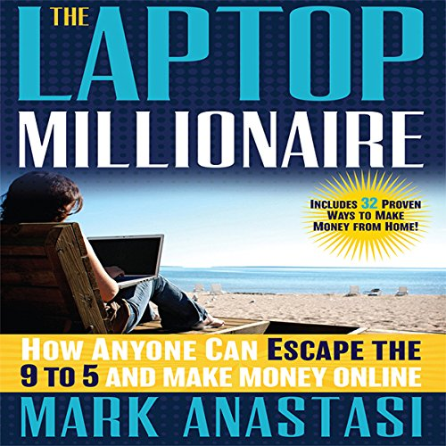 The Laptop Millionaire audiobook cover art
