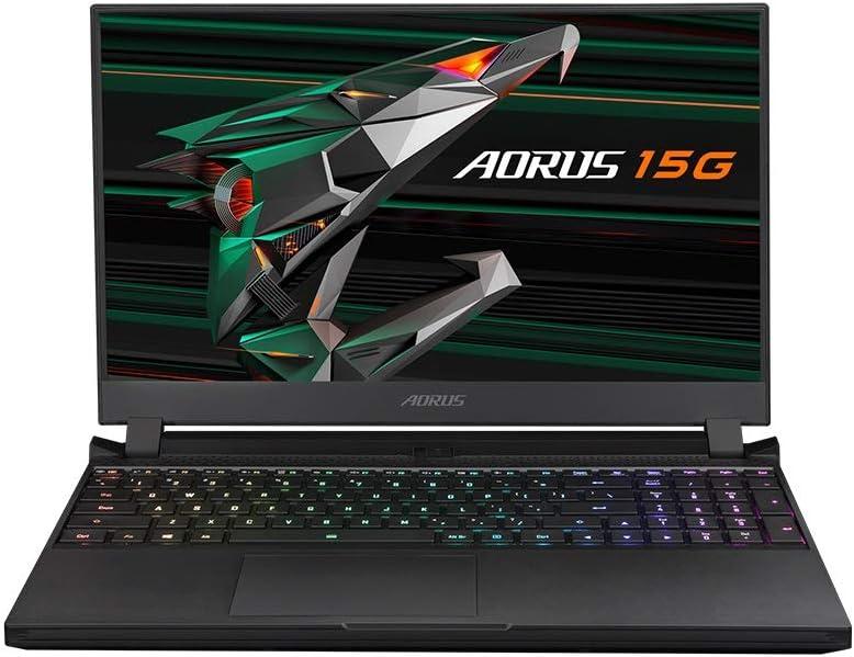 CUK AORUS 15G by Gigabyte 15 Inch Gamer Notebook (Intel Core i7, 32GB RAM, 1TB NVMe SSD, NVIDIA GeForce RTX 3080 8GB, 15.6