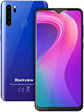 Unlocked Cell Phones, Blackview A80 Pro 4GB+64GB Unlocked Smartphone, 6.49 inches Mobile Phone, Android 9.0, 13MP+8MP, 4680mAh 4G Dual SIM Unlocked Phones, Fingerprint/Face ID for AT&T Cricket Phones