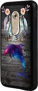 Axon 7 Case, ZTE Axon 7 Case,BOSLIVE Galaxy Dolphin Wood Background Design TPU Slim Anti-Scratch Protective Cover Case for ZTE Axon 7