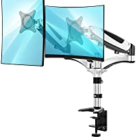 Deals on Huanuo Dual Monitor Stand Adjustable Monitor Mount