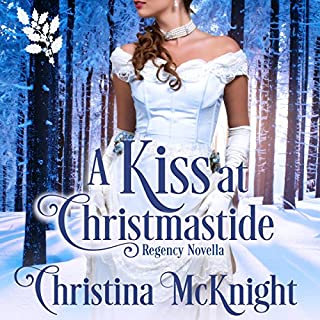 A Kiss at Christmastide audiobook cover art