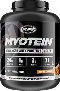 salted maca caramel protein powder