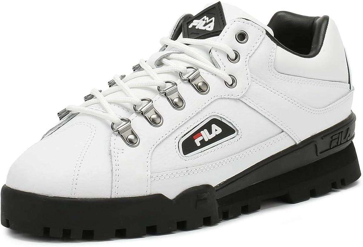 Fila Black Trailblazer Sneakers | Shoes