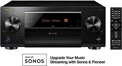 Pioneer Elite 11.2 Channel Class D3 Network AV Receiver, Black (SC-LX901)