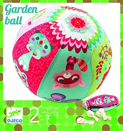 Djeco DJ02051 Next Page Spiel Geschicklichkeit Garden Ball, Bunt