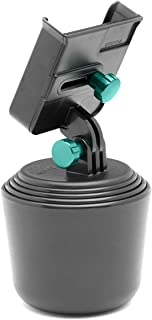 WeatherTech CupFone XL Universal Car Phone Mount with Solid Billet Aluminum Knobs - Turquoise