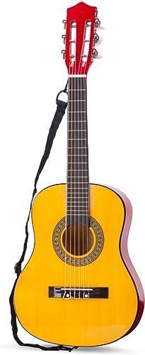 nouveau Classic Toys - 10305 - InstruHommests de Musique - Guitare Classique Avec Housse - Naturelle