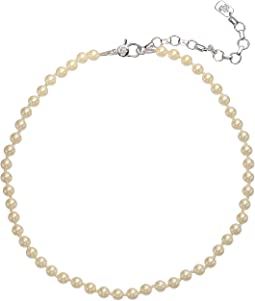 "16"" Pearl Collar Necklace"