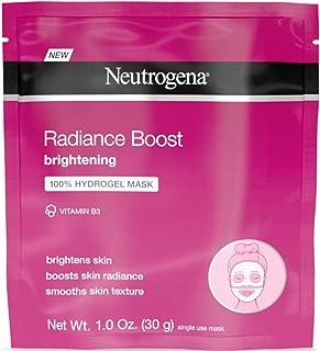 Neutrogena Radiance Boost Brighten Hydro Mask 1 Ounce (12 Pieces) (30ml)