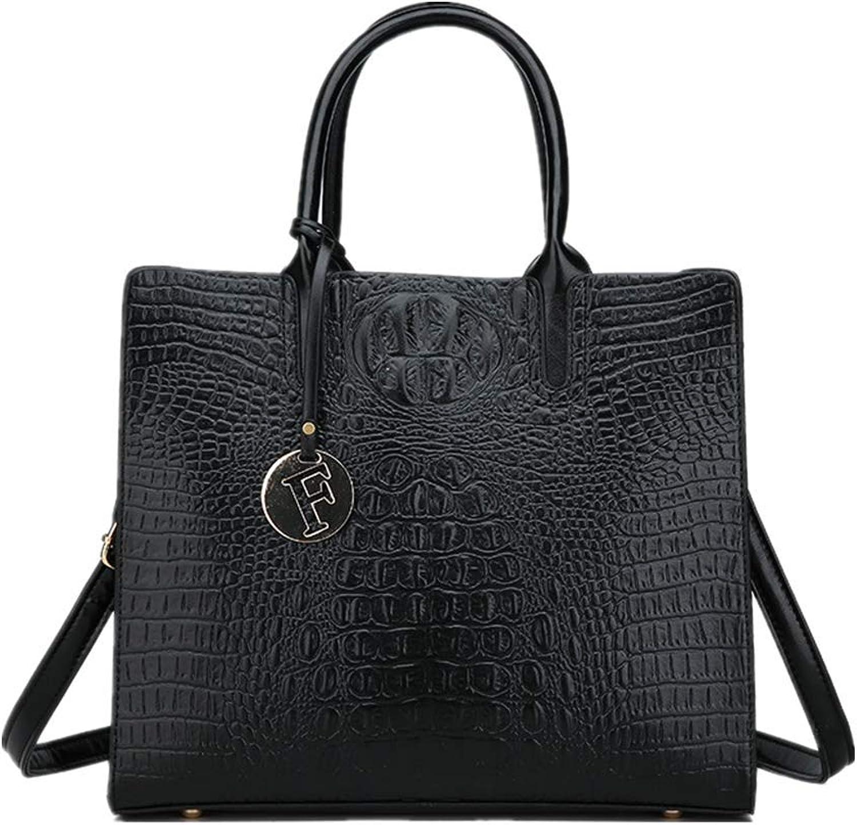 Shopper European Fashion Damentasche Damentasche Damentasche Air Pure Animal-Muster Mit Einzelschulter-Straddle-Handtasche Schwarz B07P9M8NZX  Haltbarkeit 473d0d