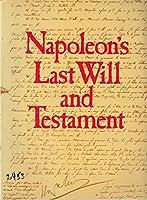 Napoleon's last will and testament