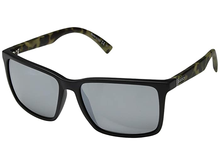VonZipper Lesmore (Black Satin Camo/Silver Chrome) Sport Sunglasses