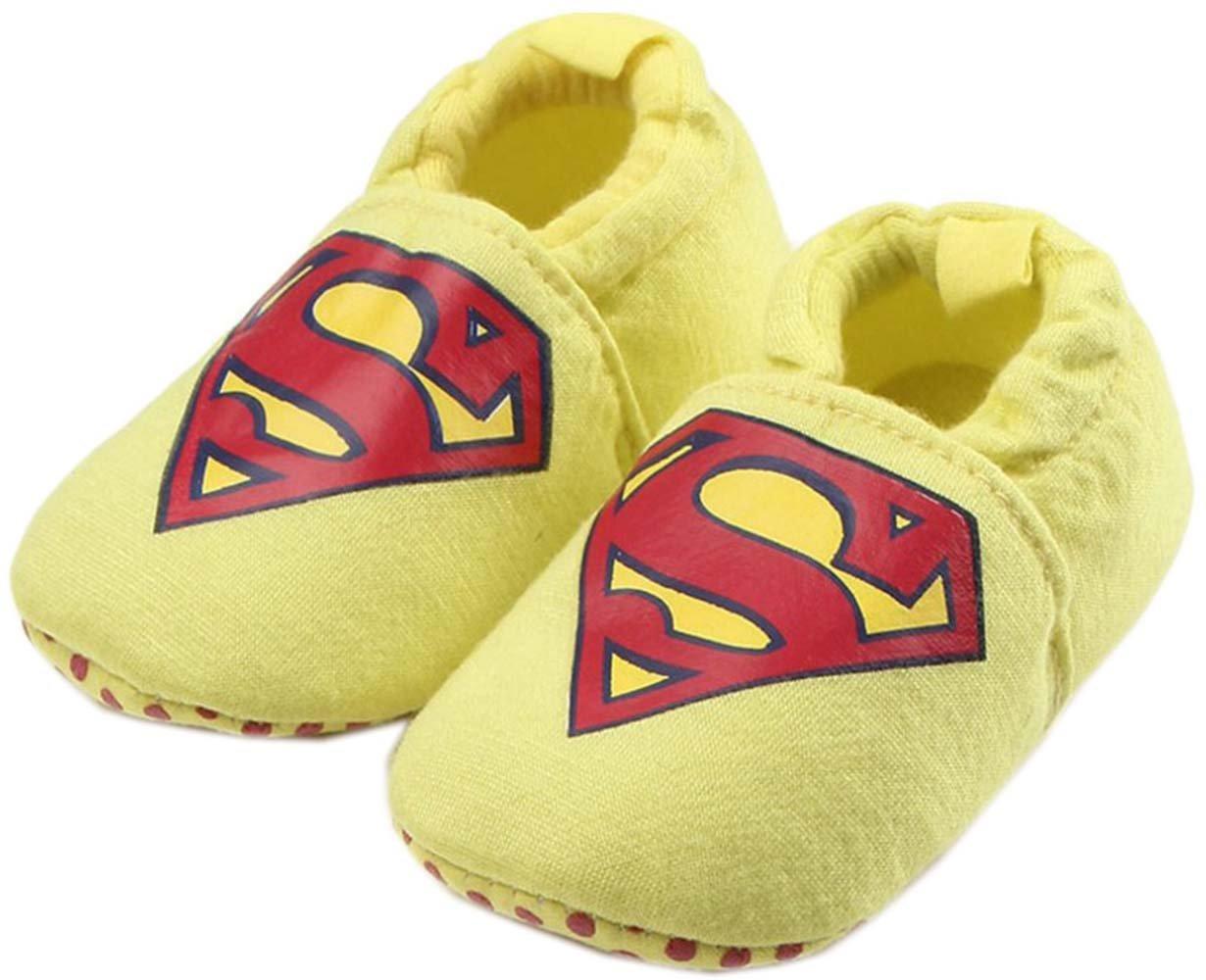 bettyhome Unisex Baby Newborn Black Star Soft Sole Infant Toddler Prewalker Sneakers 0-1 Year