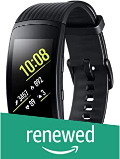 (Renewed) Samsung Gear Fit 2 Pro SM-R365 Smartband (Black)
