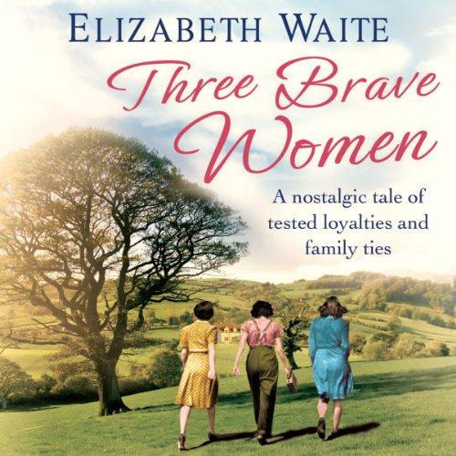 Three Brave Women audiobook cover art