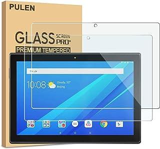 comprar comparacion Protector de pantalla Pulen para tablet Lenovo TAB E10 (TB-X104F), vidrio templado de alta calidad, sin burbujas y antihue...