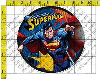 Whimsical Practicality Superman Edible Icing Image Cake Topper (1/4 Sheet)