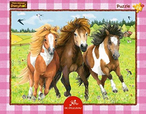 Rahmenpuzzle Die fröhliche Ponybande Mein kl.Ponyhof (24T)