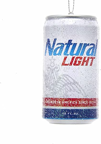 Kurt Adler Budweiser Natural Light Can Ornament