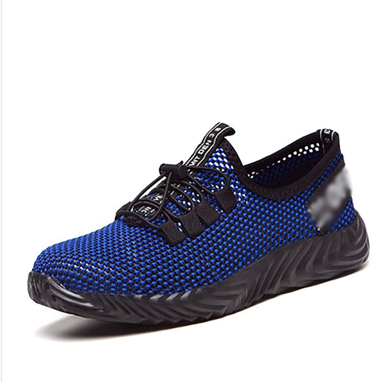 Work shoes Work shoes work shoes lightweight comfortable men and women casual shoes work safety shoes steel toe caps mesh surface plate anti-piercing labor insurance shoes summer breathable deodorant
