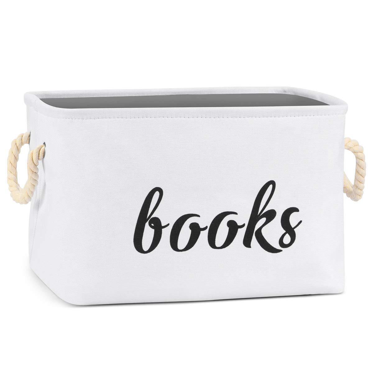 New popularity GIRVEM Branded goods Books Storage Basket Organizer Box Kids Baby or for Pet