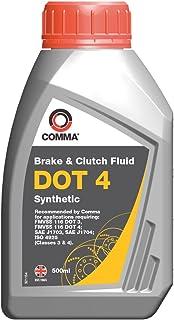 Comma BF4500M Dot 4 Bremsflüssigkeit, synthetisch, 500ml
