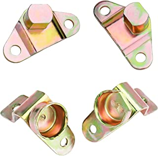 Super Duty, F150, F250, F350, Ranger; Replaces E7TZ99430B38A APDTY 49759 Left /& Right Tailgate Hinges//Hardware Kit Fits Select 1987-2011 Ford F-Series