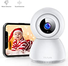 Victure 1080P FHD Baby Monitor with 2.4G WiFi Wireless IP Home Security Camera Indoor..
