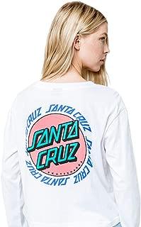 Women's Ringed Dot Crop Boyfriend Shirts