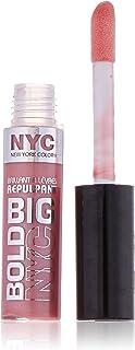 N.Y.C. New York Color Big Bold Plumping and Shine Lip Gloss, Big City Blush, 0.39 Fluid Ounce