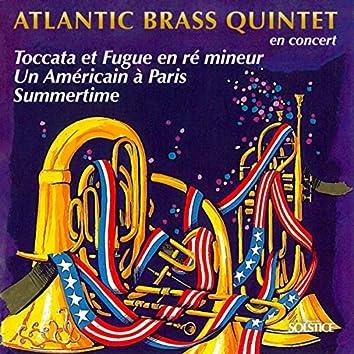 Atlantic Brass Quintet in concert