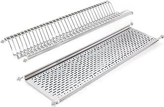 ELLETIPI Escurreplatos para m/ódulo Colgante Bridge I850 CB1 116 V01 de Acero Inoxidable 120 cm