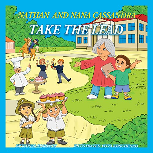 Nathan and Nana Cassandra Take the Lead audiobook cover art