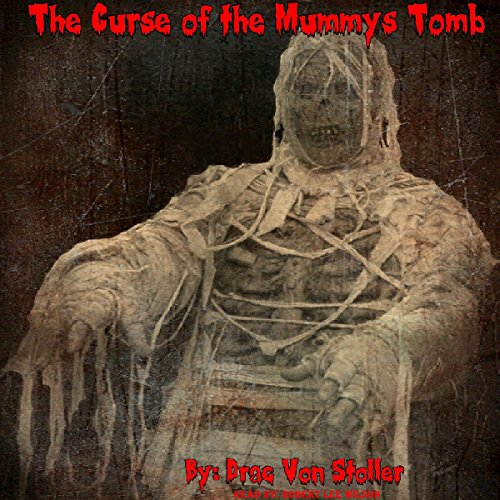 The Curse of the Mummy's Tomb audiobook cover art