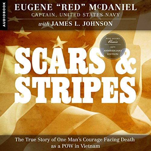 Scars and Stripes audiobook cover art
