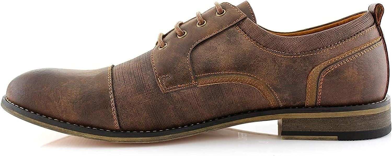 Manufacturer direct delivery Ferro Aldo MFA19619L Trevor Classsic Leather OFFicial Lace-Up Cap-Toe Lin