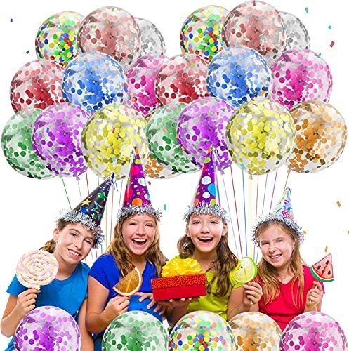 Globos para fiestas de Niños, 50Pcs Globos Fiesta Cumpleaños Decoración Dibujos animados...
