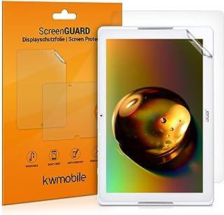 kwmobile 2X Protector de Pantalla Compatible con Acer Iconia One 10 (B3-A40) - Salvapantallas Transparente para Tablet