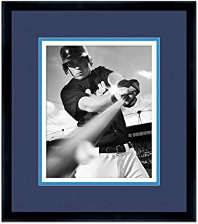 Tampa Bay Rays Classic Black Wood Photo Frame Made to Display 11x14 Photos
