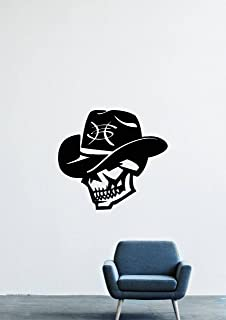 Heroes Del Silencio Skull Spanish Rock Band Hat Wall Decals Decor Vinyl Sticker GMO1475