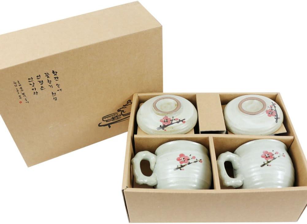 Korea Direct stock discount KOYO Set of 2 Handmade Cup Ceramic Brrewing with Tea New arrival Infus