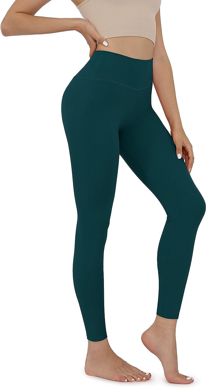 ODODOS Women's High Waisted Leggings Lightweight Super Soft Slim Leggings