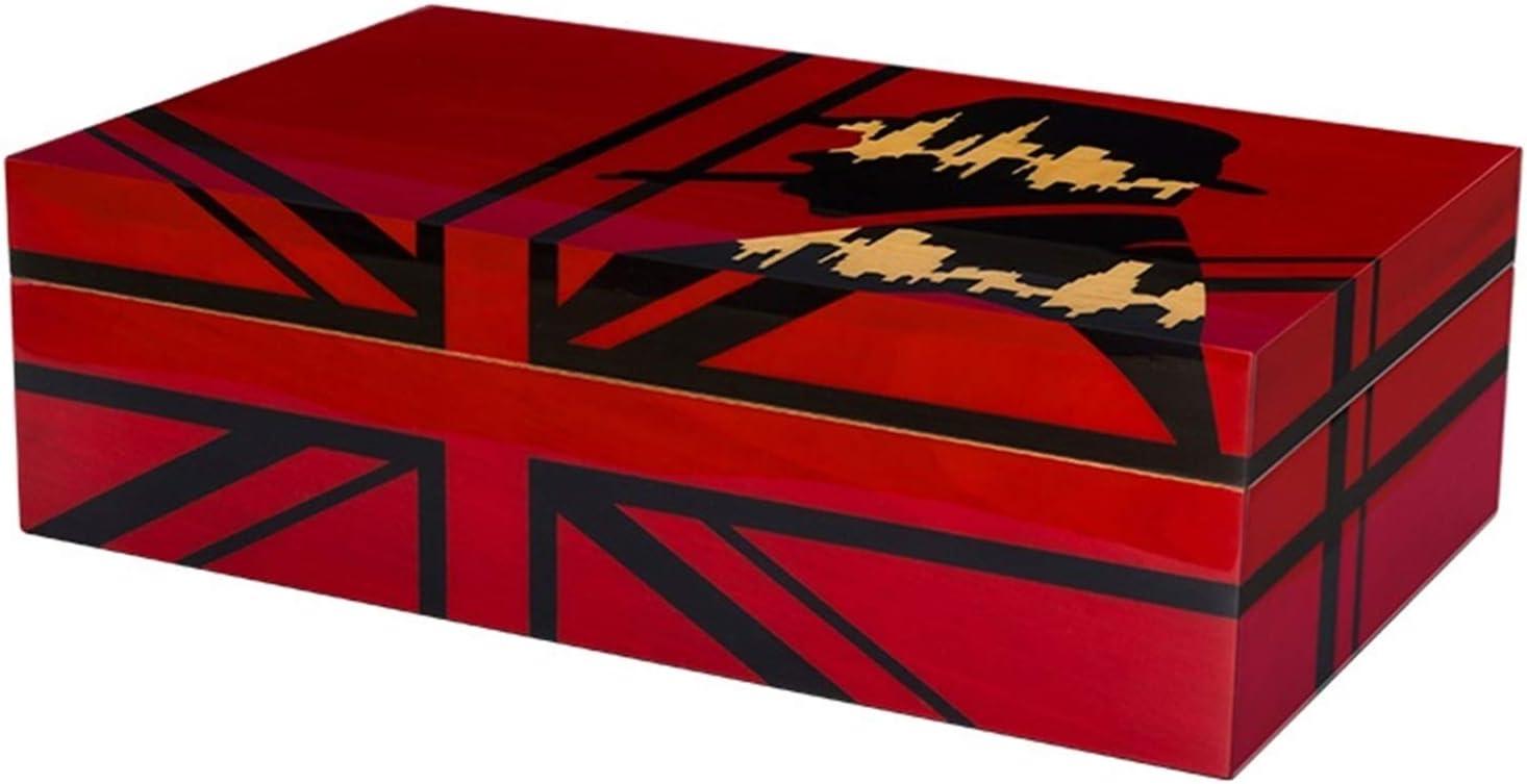MZXUN. Max 67% OFF Cedar Wood 2-Storey 100 Fees free Cigars Humidor Cigaret Cigar Case