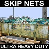 Net World Sports Skip Nets/Trailer Nets/Cargo Nets (ULTRA HEAVY DUTY) (Green) **5 SIZES (8ft x 5ft)
