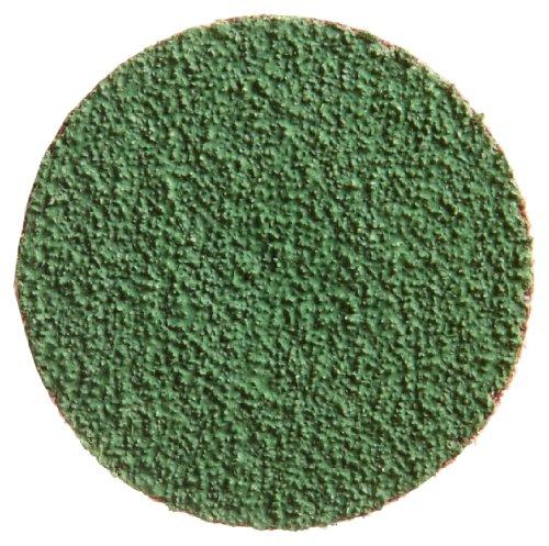 Mérito de circonio Plus gamuza de abrasivos disco, respaldo, tipo III, Zirconia alúmina, 3cm de diámetro, grano 80(caja de 10)