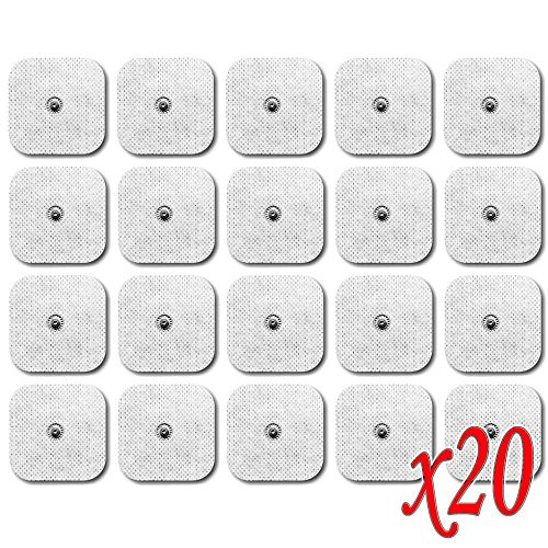 OcioDual 20 Electrodos para VITALCONTROL BEURER - Set de Parches TENS EMS...