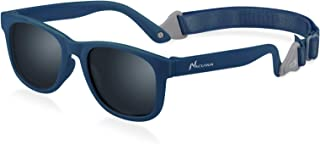 Baby Sunglasses - 100% UV Proof Sunglasses for Baby, Toddler, Kids - Ages 0-2 Years - Case and Pouch included