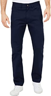 بنطلون رجالي من Nautica كلاسيكي ذو جيب أمامي مستقيم 5 جيوب